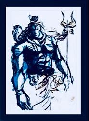 Blu-Blur Shiva